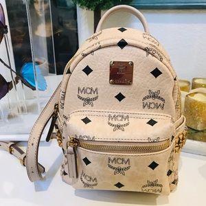 MCM mini backpack & waist Bag